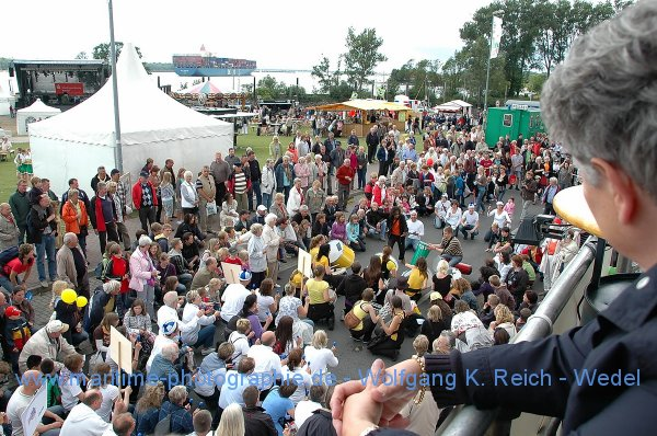 Hafenfest in Wedel